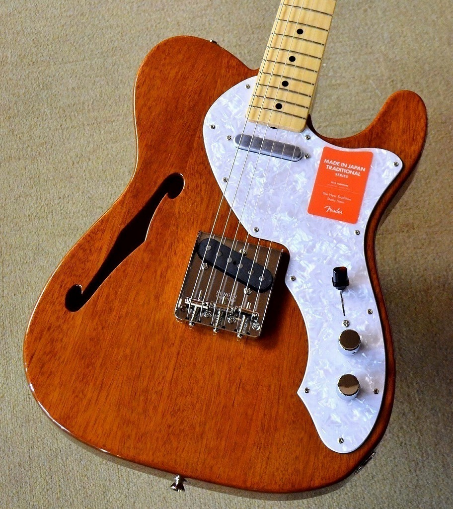 Fender 【アーニーボール弦プレゼント】Made in Japan Traditional 69 Telecaster Thinline / Natural【池袋店在庫品】