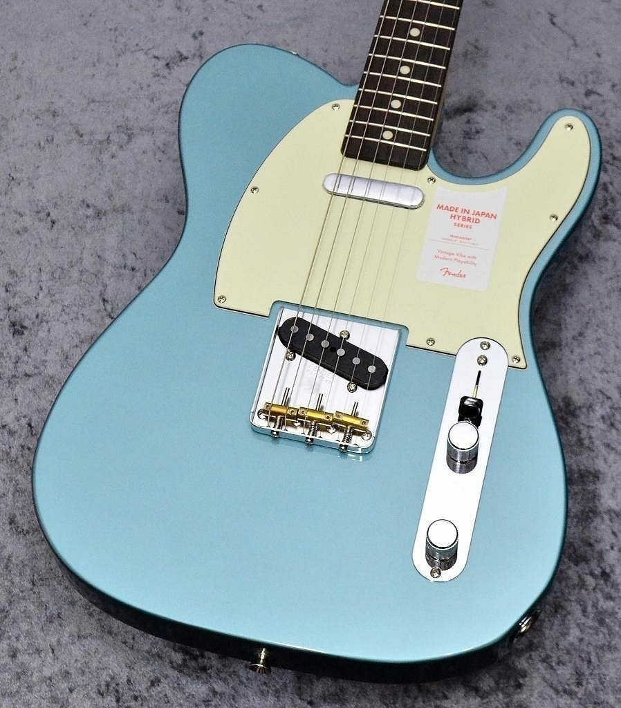 Fender 【アーニーボール弦プレゼント】Made in Japan Hybrid 60s Telecaster Ocean Turquoise Metallic【池袋店在庫品】