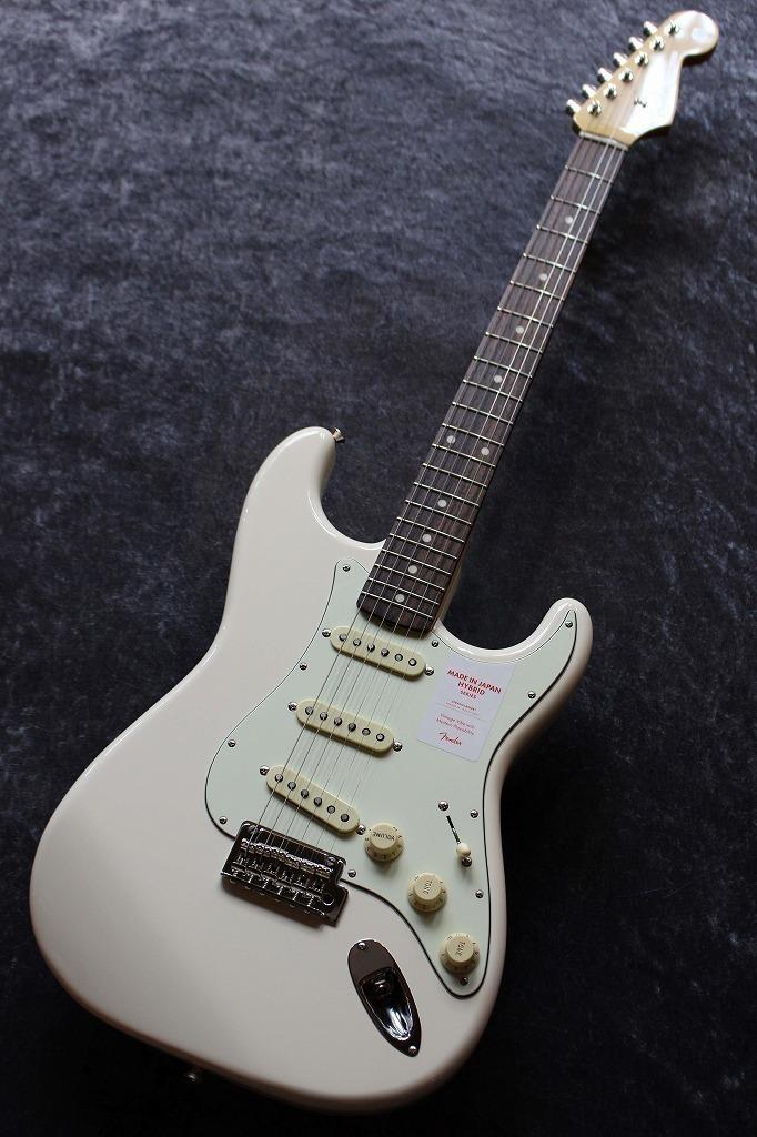 Fender【アーニーボール弦プレゼント】MadeinJapanHybrid60sStratocasterVintageWhite【池袋店在庫品】