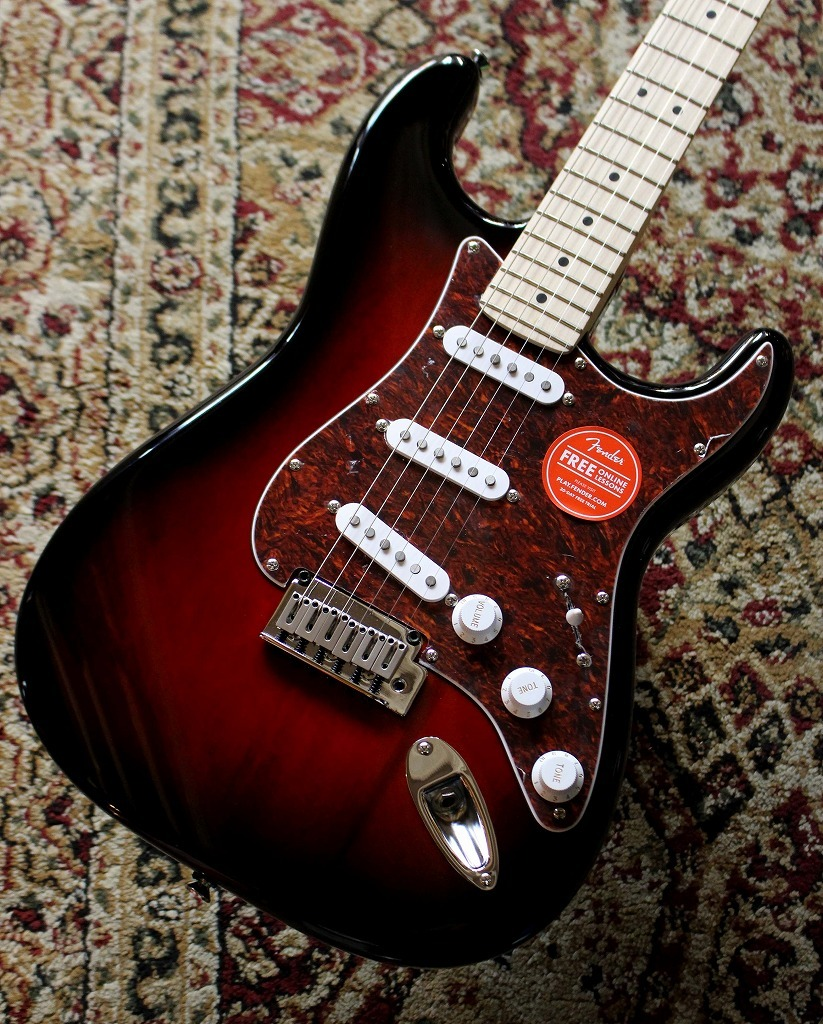 Squier by Fender Standard Stratocaster /M Antique Burst【池袋店在庫品】