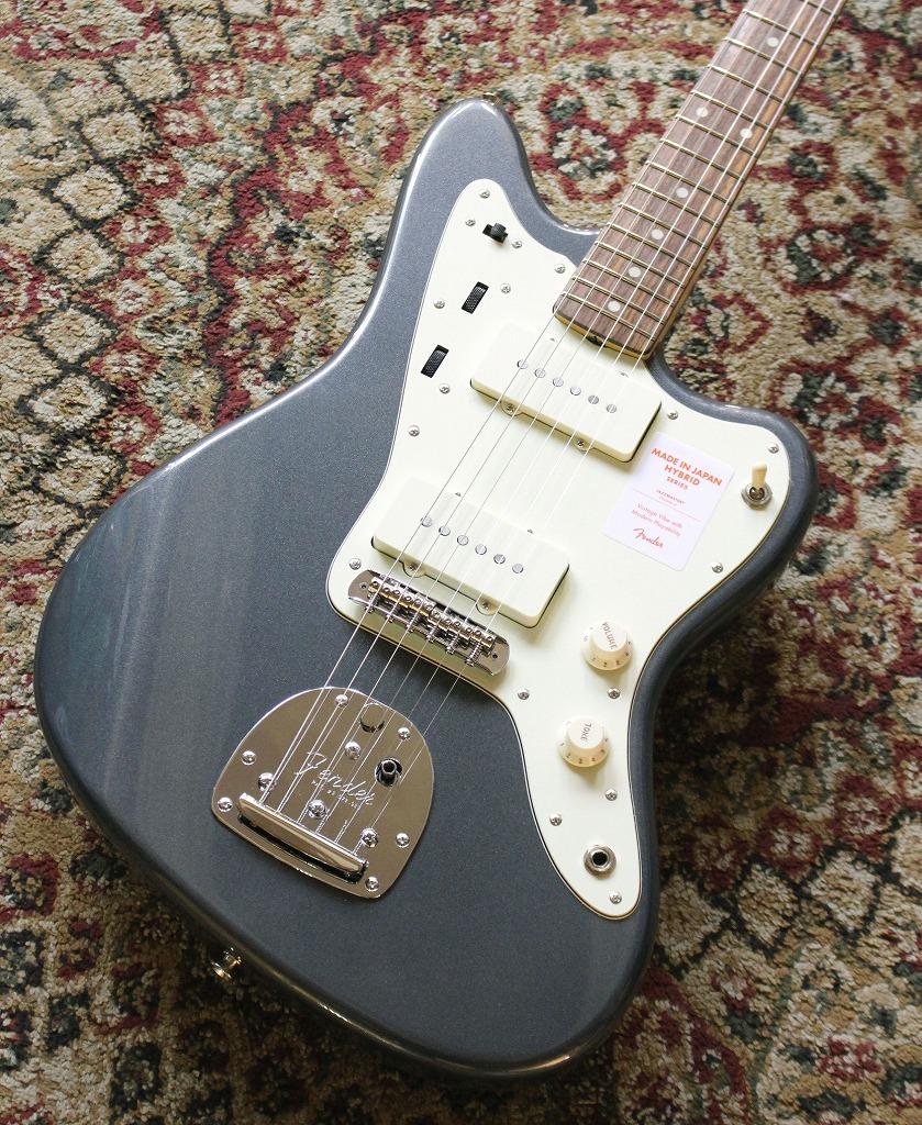 Fender 【豪華2大特典付!!】Made in Japan Hybrid 60s Jazzmaster Charcoal Frost Metallic 【池袋店在庫品】