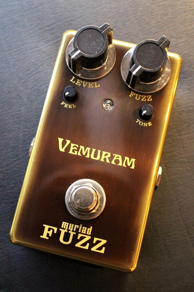 VEMURAM Myriad Fuzz 【即納可能】【最高峰FUZZ】【担当イチオシ】【池袋店在庫品】