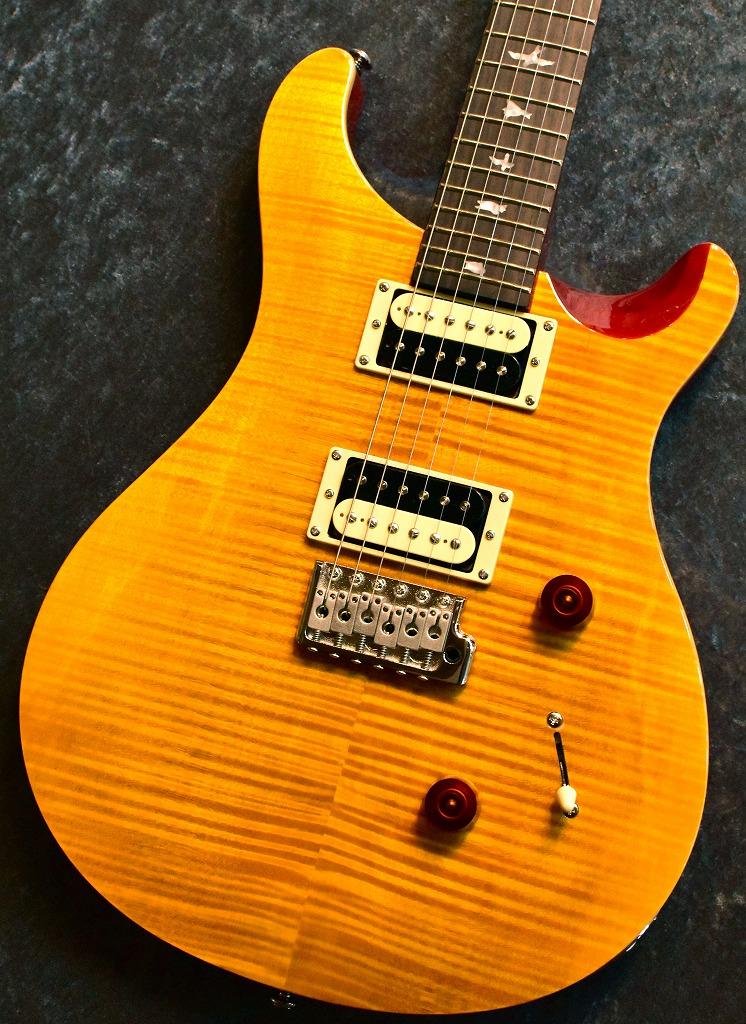 Paul Reed Smith(PRS) SE Custom24 Vintage Yellow #S06644 【フレイムヘッド個体!!】【良杢個体】【レア個体】【池袋店在庫品】