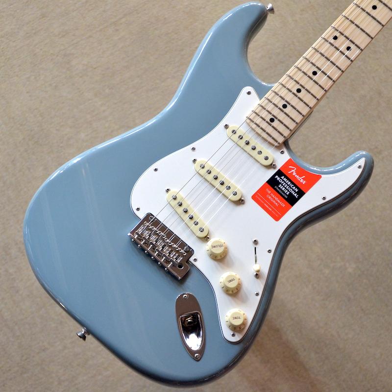 【新品アウトレット特価】Fender American Professional Stratocaster Maple Fingerboard ~Sonic Gray~ #US18011846 【3.57kg】【22フレット】【送料無料】【池袋店在庫品】