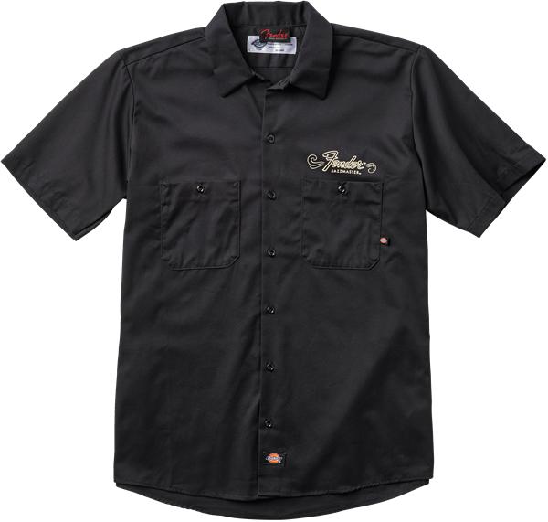 当店イチオシ品!おすすめ! 【新品】Fender 60th Anniversary Jazzmaster Workshirt Black Mサイズ 【ワークシャツ】【正規輸入品】【池袋店】