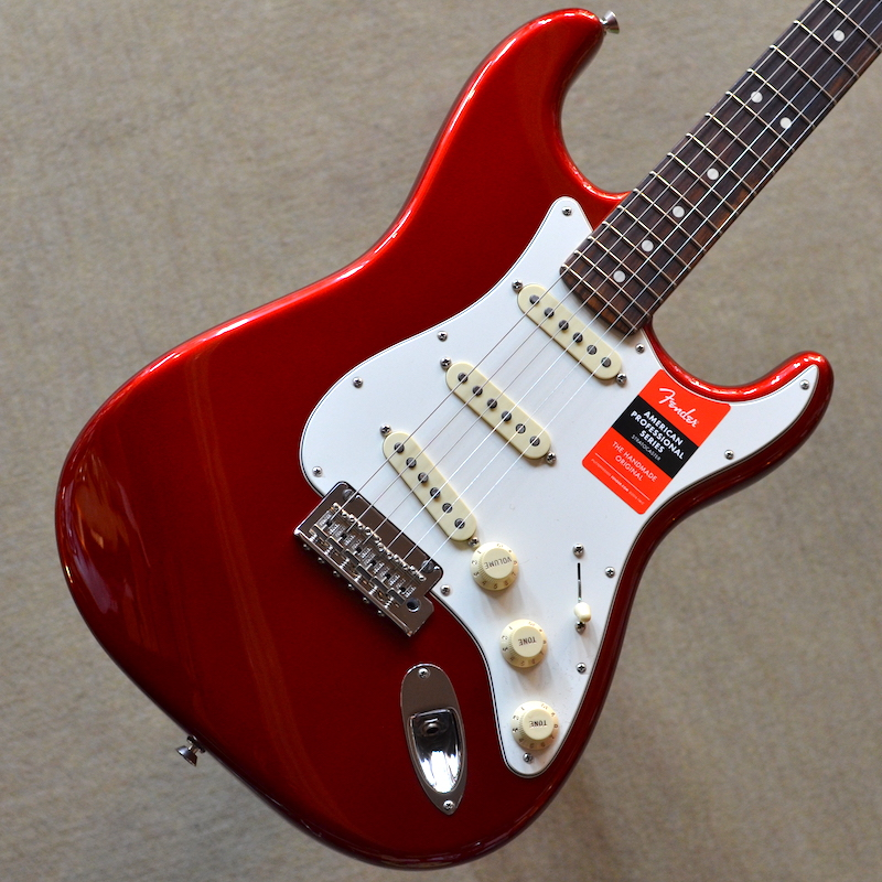 【新品特価】Fender American Professional Stratocaster Rosewood Fingerboard ~Candy Apple Red~ #US17054513 【3.49kg】【22フレット】【USA製】【送料無料】【池袋店在庫品】