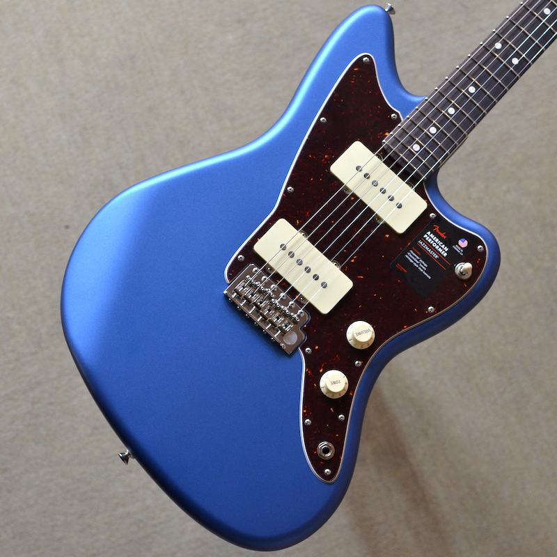 【新品】Fender American Performer Jazzmaster ~Satin Lake Placid Blue~ #US19010217 【3.72kg】【22フレット】【送料無料】【池袋店在庫品】