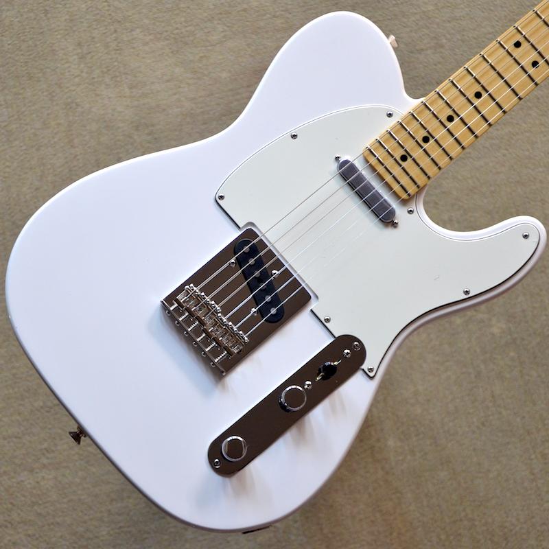 【新品】Fender Player Telecaster Maple Fingerboard ~Polar White~ #MX18059766 【3.46kg】【22フレット】【送料無料】【池袋店在庫品】