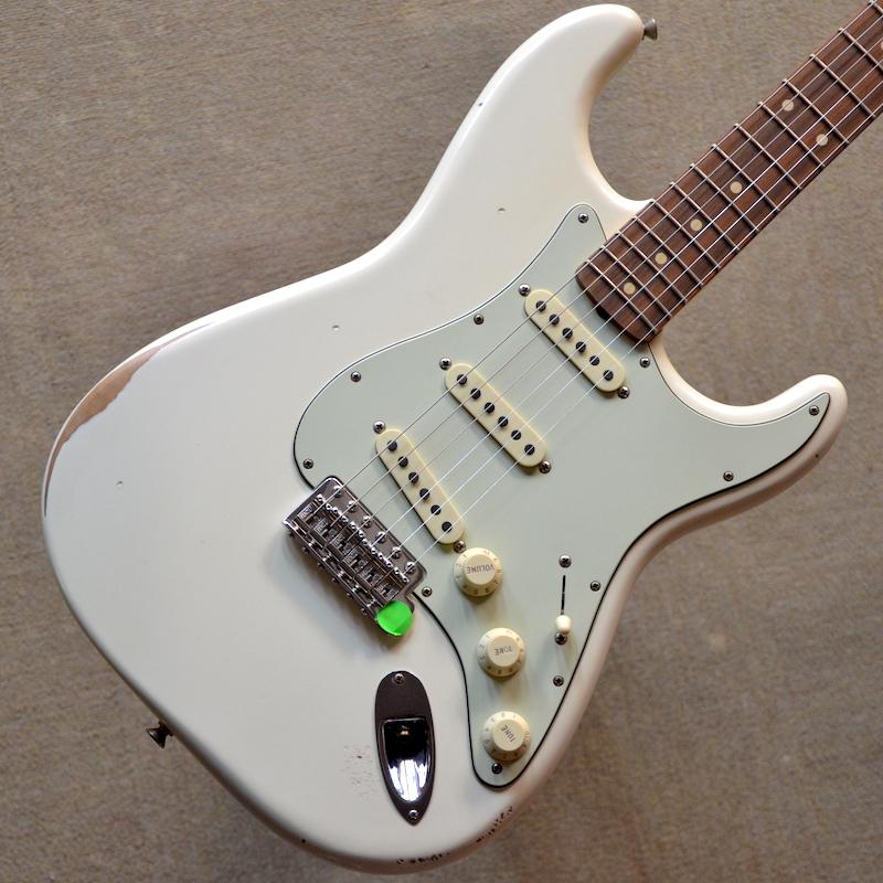【新品】Fender Road Worn '60s Stratocaster ~Olympic White~ #MX18050028 【軽量3.34kg】【ラッカーフィニッシュボディ】【エイジング加工】【送料無料】 【池袋店在庫品】