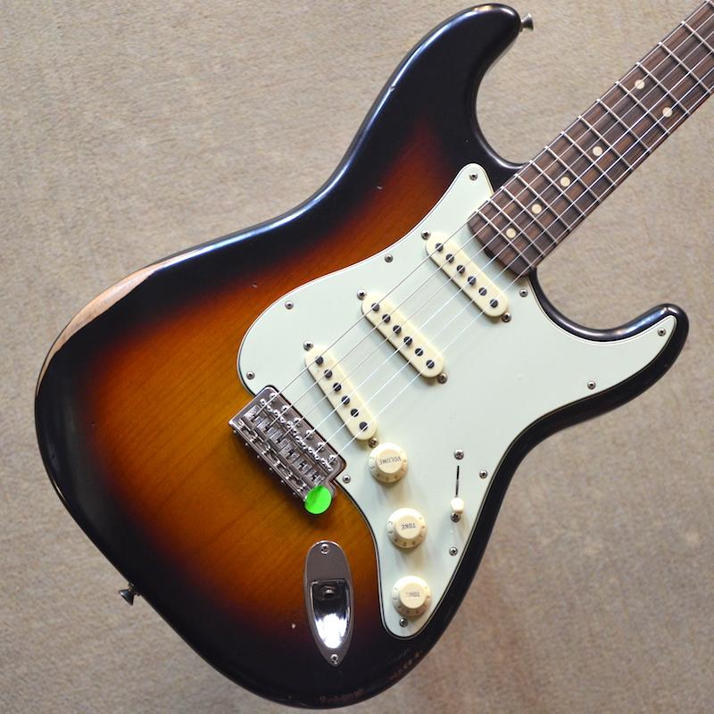 【新品】Fender Road Worn '60s Stratocaster ~3-Color Sunburst~ #MX18071998 【軽量3.25kg】【ラッカーフィニッシュボディ】【エイジング加工】【送料無料】【池袋店在庫品】