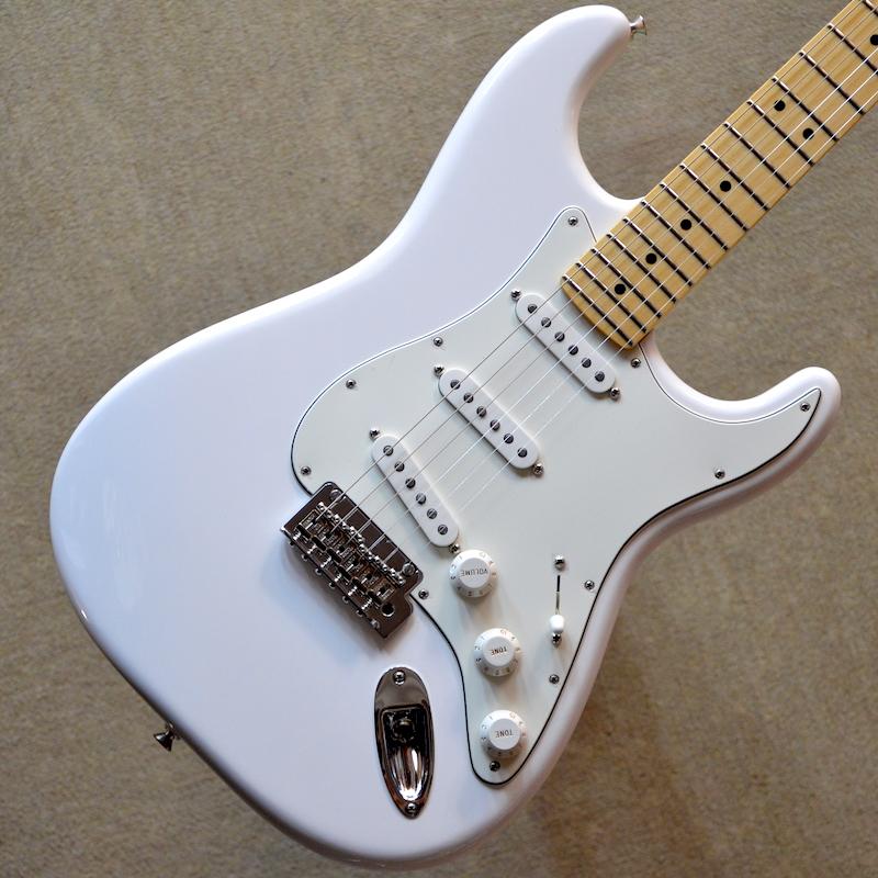 【新品】Fender Player Stratocaster Maple Fingerboard ~Polar White~ #MX18024412 【3.46kg】【22フレット】【送料無料】【池袋店在庫品】
