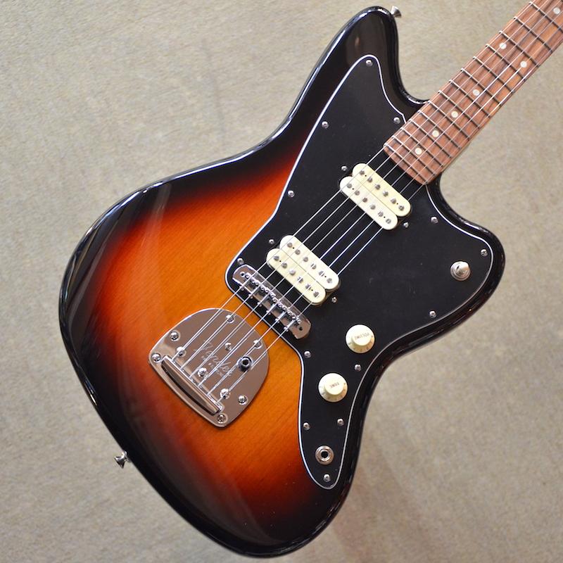 【新品】Fender Player Jazzmaster ~3-Color Sunburst~ #MX18075935 【3.73kg】【22フレット】【コイルタップ】【ハムバッカー】【送料無料】【池袋店在庫品】