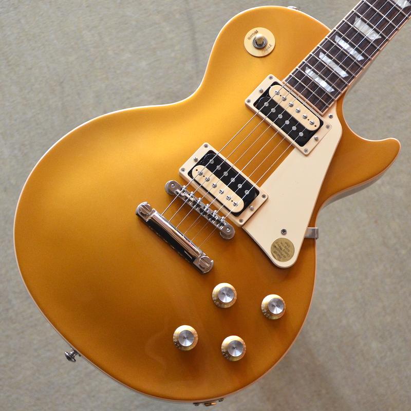 【新品】Gibson Les Paul Classic 2019 ~Gold Top~ #190001665 【3.99kg】【コイルタップ】【送料無料】【池袋店在庫品】