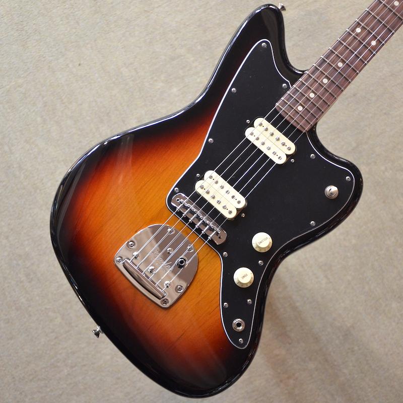 【新品】Fender Player Jazzmaster ~3-Color Sunburst~ #MX18118173 【3.74kg】【22フレット】【コイルタップ】【ハムバッカー】【送料無料】【池袋店在庫品】