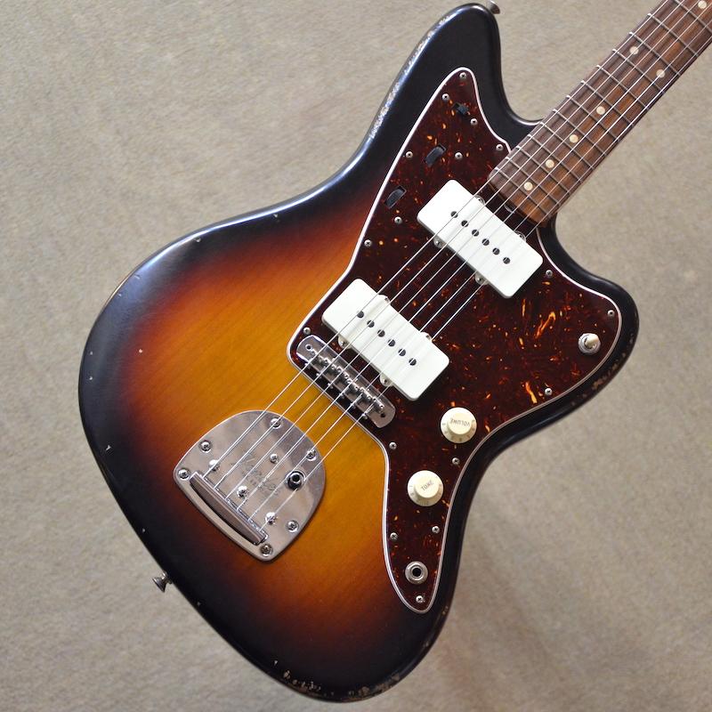 【新品】Fender Road Worn '60s Jazzmaster ~3-Color Sunburst~ #MX18035483 【軽量3.31kg】【ピックガード・モディファイ】【送料無料】 【池袋店在庫品】