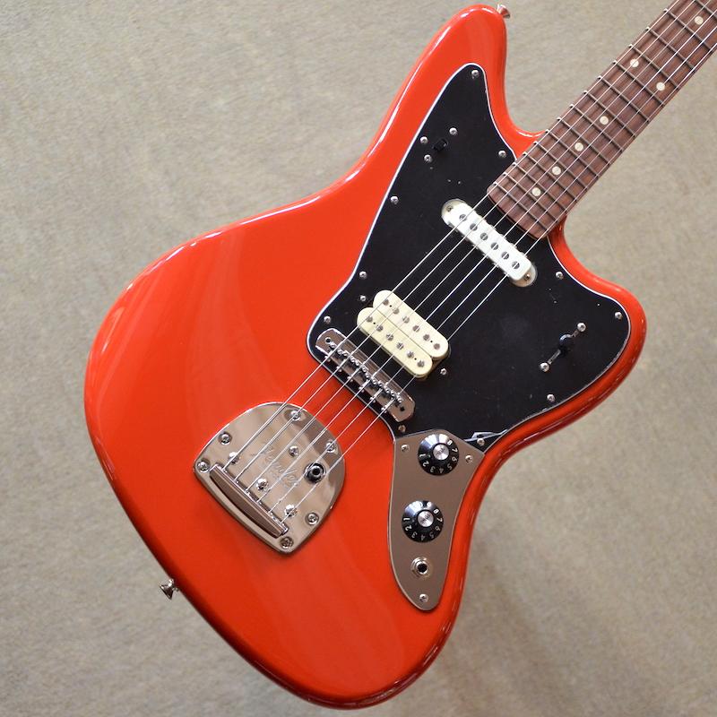 【新品】Fender Player Jaguar ~Sonic Red~ #MX18118831 【3.62kg】【コイルタップ】【送料無料】【池袋店在庫品】