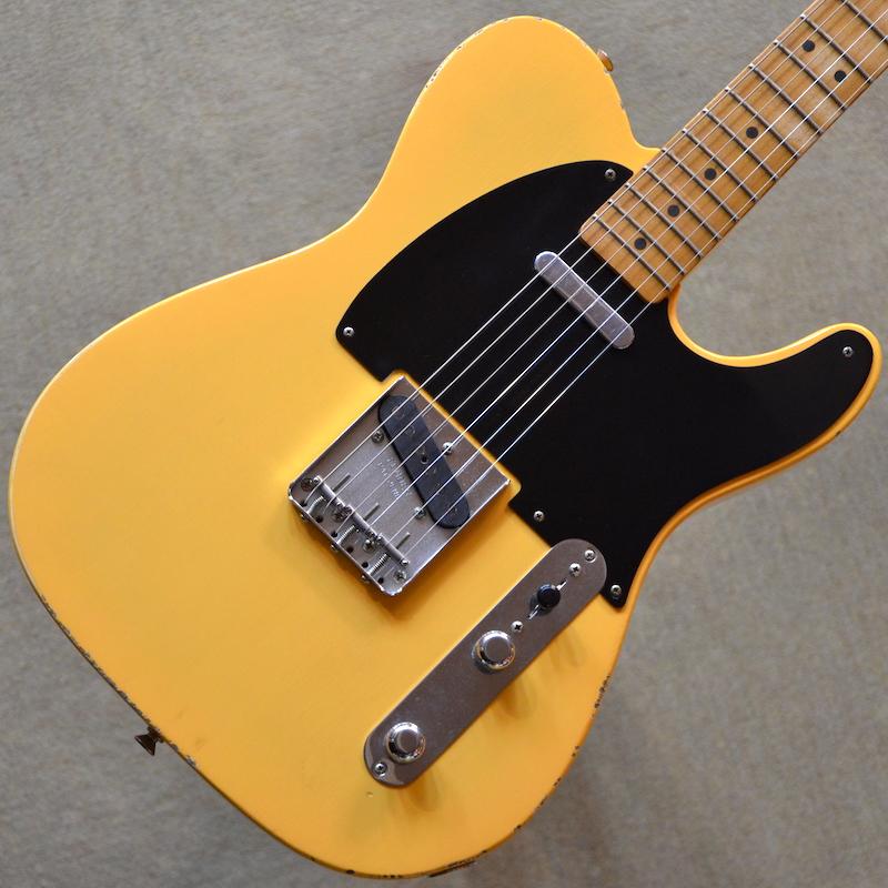 【新品】Fender Road Worn '50s Telecaster ~Vintage Blonde~ #MX18044729 【軽量3.21kg】【ラッカーフィニッシュボディ】【エイジング加工】【送料無料】【池袋店在庫品】