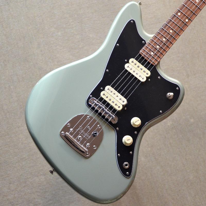 【新品】Fender Player Jazzmaster ~Sage Green Metallic~ #MX18093878 【3.71kg】【22フレット】【ハムバッカー】【コイルタップ】【送料無料】【池袋店在庫品】