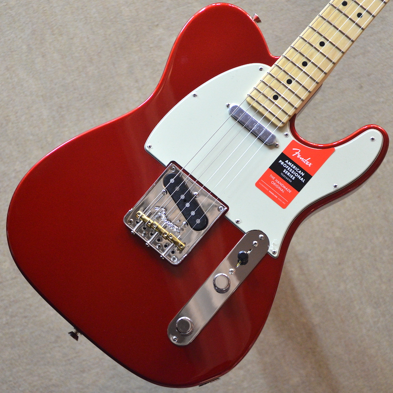 【新品】Fender American Professional Telecaster Maple Fingerboard ~Candy Apple Red~ #US17064891 【3.36kg】【22フレット】【USA製】【送料無料】 【池袋店在庫品】