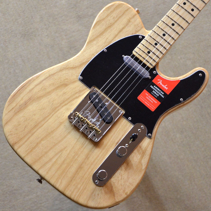 【新品】Fender American Professional Telecaster Maple Fingerboard ~Natural~ #US17116674 【3.58kg】【22フレット】【アッシュボディ】【USA製】【送料無料】【池袋店在庫品】