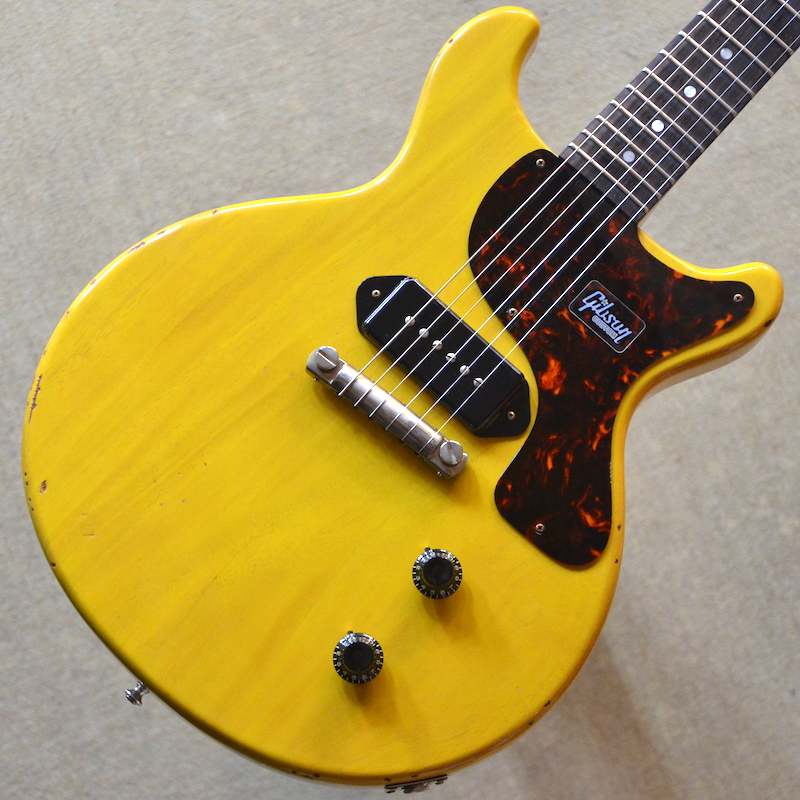 【新品】Gibson Custom Shop Japan Limited 1959 Les Paul Junior Double Cut Slight Light Aged ~Bright TV Yellow~ #983271 【2.98kg】【限定モデル】【送料無料】【池袋店在庫品】