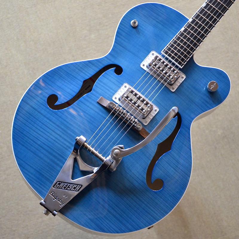 【新品】Gretsch G6120SH Brian Setzer Hot Rod / Harbor Blue 2-Tone 【次回入荷分予約受付中】【ブライアン・セッツァー・モデル】【エボニー指板】【TV Jones ピックアップ】【送料無料】【池袋店】
