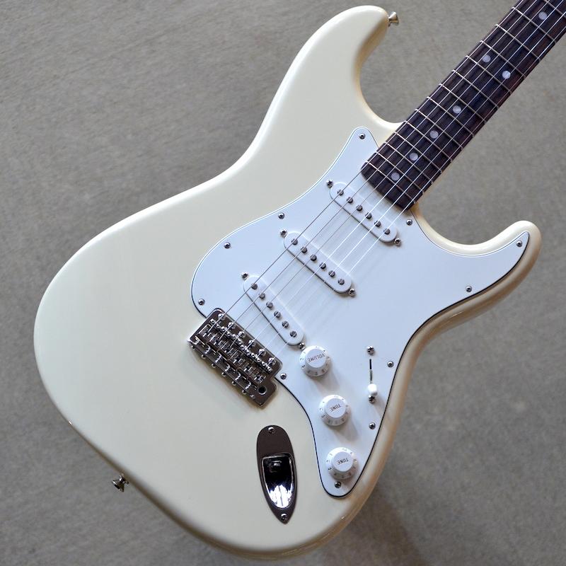 【新品】Fender Albert Hammond Jr. Stratocaster ~Olympic White~ #MX18098222 【3.81kg】【アルバート・ハモンド・ジュニア・モデル】【ラージヘッド】【ローズウッド指板】【送料無料】【池袋店在庫品】