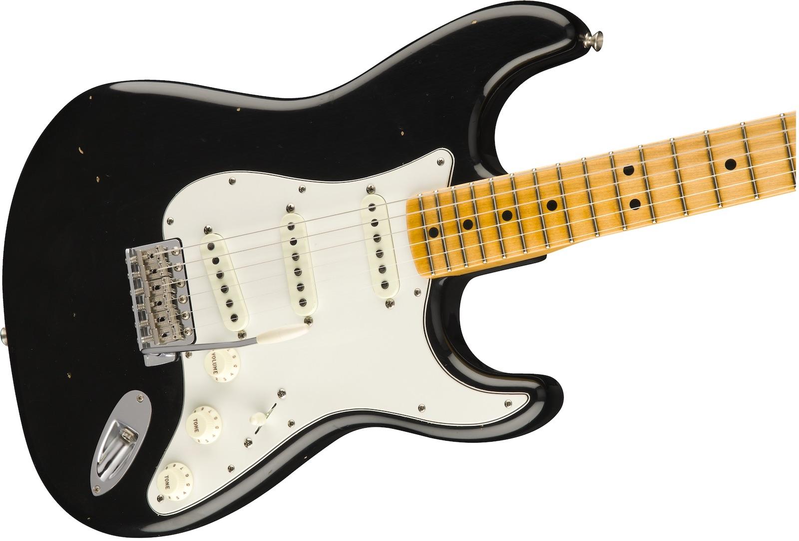 【新品】Fender Custom Shop Jimi Hendrix Voodoo Child Signature Stratocaster Journeyman Relic ~Black~ 【ジミヘンモデル】【リバース・ヘッド】【ハンドワウンド・ピックアップ】【送料無料】【ご予約受付中】【池袋店】