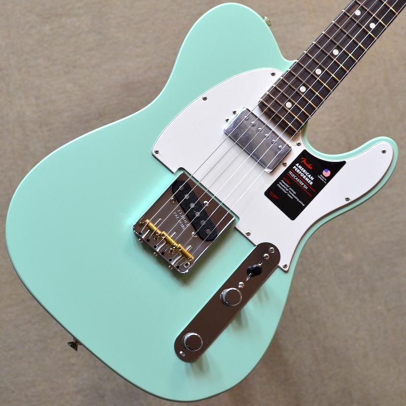 【新品】Fender American Performer Telecaster Hum Rosewood Fingerboard ~Satin Surf Green~ #US19011577 【3.45kg】【コイルタップ】【22フレット】【送料無料】【池袋店在庫品】