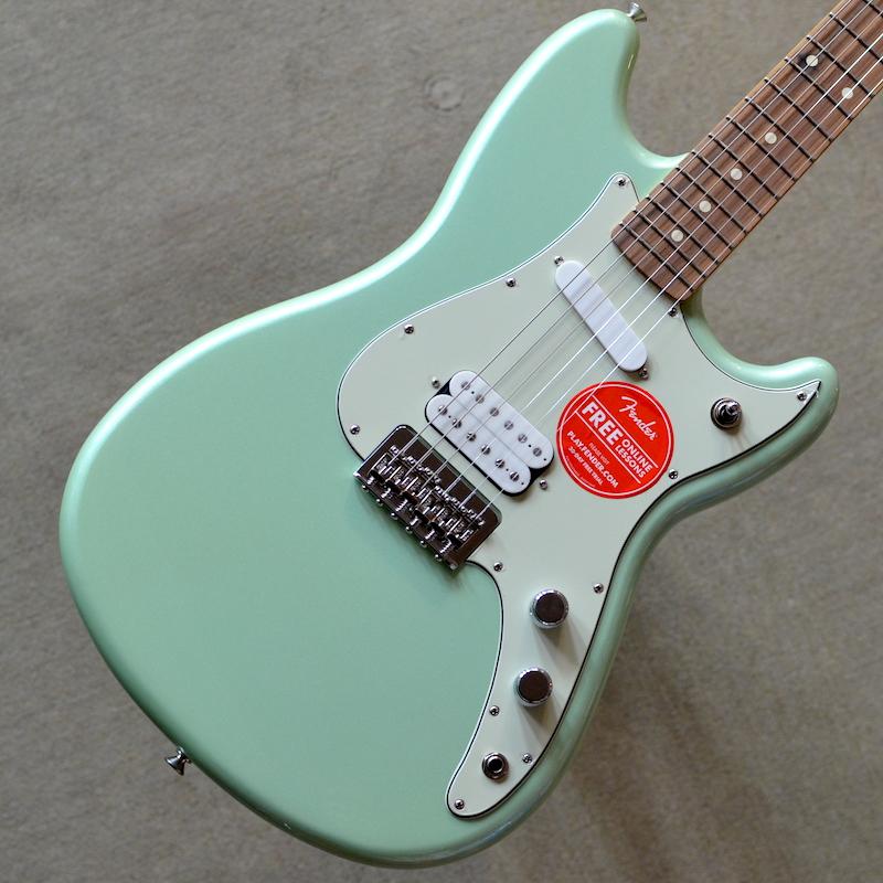 【新品】Fender Duo-Sonic HS ~Surf Pearl~ #MX17863162 【軽量2.96kg】【ショートスケール】【コイルタップ】【22フレット】【送料無料】【池袋店在庫品】