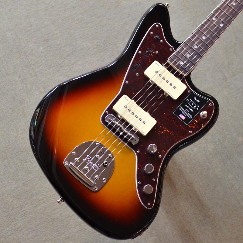 【新品】Fender American Ultra Jazzmaster Rosewood Fingerboard ~Ultraburst~ #US19082887 【3.74kg】【ミディアムジャンボフレット】【コンパウンドラジアス指板】【ノイズレスピックアップ】【ロックペグ】【S1スイッチ】【サイドジャック】【USA製】【池袋店在庫品】