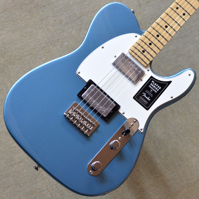 【新品】Fender Player Telecaster HH Maple Fingerboard ~Tidepool~ 【次回入荷分予約受付中】【22フレット】【コイルタップ】【ハムバッカー】【バック・コンター】【送料無料】【池袋店】