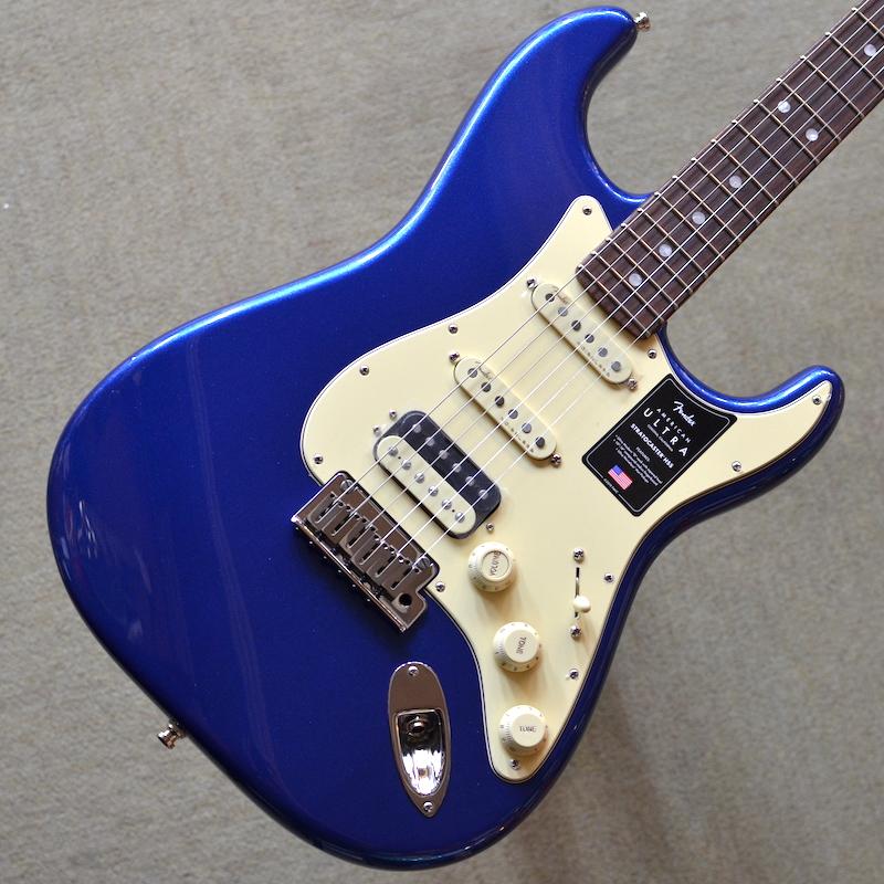 【メーカー直送】 【新品】Fender American Ultra Stratocaster HSS Rosewood Fingerboard ~Cobra Blue~ 【次回入荷分予約受付中】【ミディアムジャンボフレット】【コンパウンドラジアス指板】【ノイズレスPU】【コンター加工】【ロックペグ】【S1スイッチ】【USA製】【池袋店】, クチノツチョウ 59e411da
