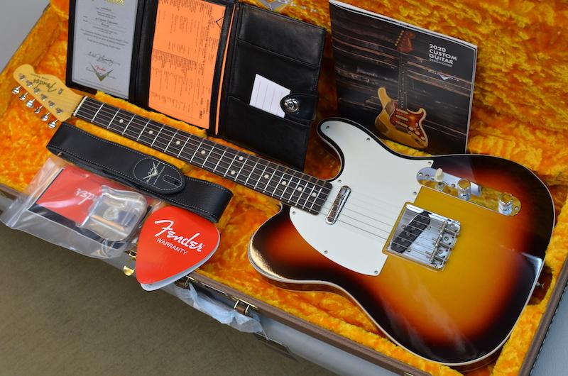 【新品】Fender Custom Shop Vintage Custom 1959 Telecaster Custom NOS ~Chocolate 3-Color Sunburst~ #R101793 【3.42kg】【カタログモデル】【フラッシュコートラッカー】【コンパウンドラジアス指板】【うっすらフレイムネック個体】【送料無料】【池袋店在庫品】