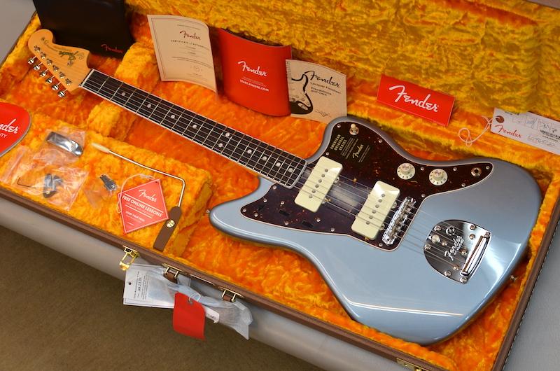 【新品】Fender American Original '60s Jazzmaster ~Ice Blue Metallic~ #V1969282 【3.67kg】【ラウンドローズウッド指板】【9.5インチラジアス指板】【ヴィンテージトールフレット】【ラッカーフィニッシュ】【USA製】【送料無料】 【池袋店在庫品】
