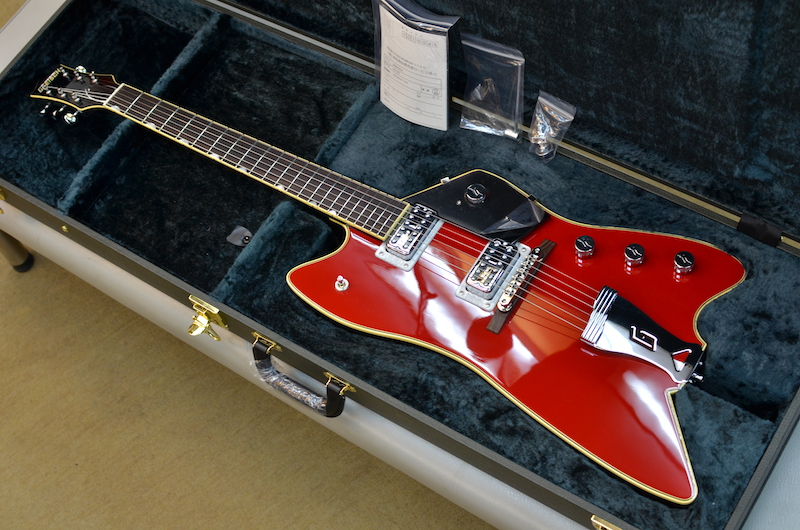 【新品】Gretsch G6199 Billy-Bo Jupiter Thunderbird ~Firebird Red~ #JT20041726 【軽量3.30kg】【2020年製】【TV Jonesピックアップ】【ローズウッド指板】【12インチラジアス指板】【送料無料】【池袋店在庫品】