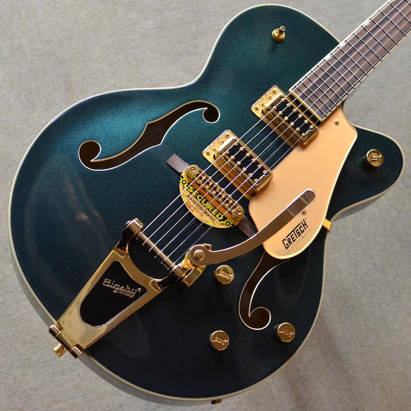 【新品】Gretsch G5420TG Limited Edition Electromatic Hollow Body Single-Cut with Bigsby Cadillac Green #KS20033138 【3.45kg】【2020年製】【限定モデル】【キャディラックグリーン】【ゴールドハードウェア】【ビグスビー】【メイプルネック】【池袋店在庫品】