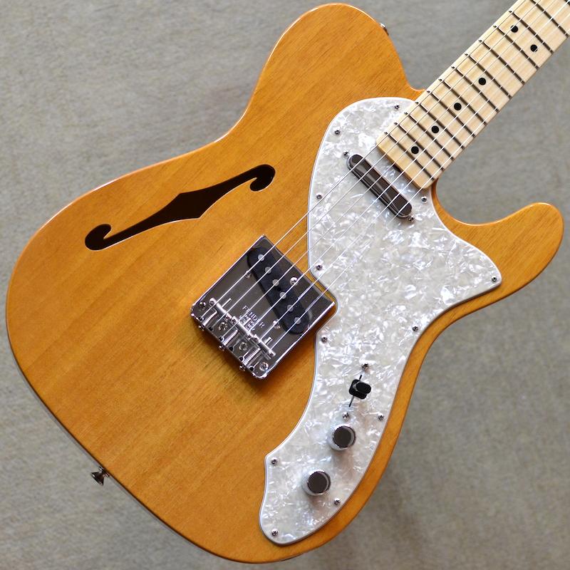 【新品】Fender Custom Shop Vintage Custom 1968 Telecaster Thinline ~Aged Natural~ #R104274 【軽量3.04kg】【超良木目個体】【2020年製】【マホガニーボディ】【貼りメイプル指板】【コンパウンドラジアス指板】【ハンドワウンドピックアップ】【池袋店在庫品】