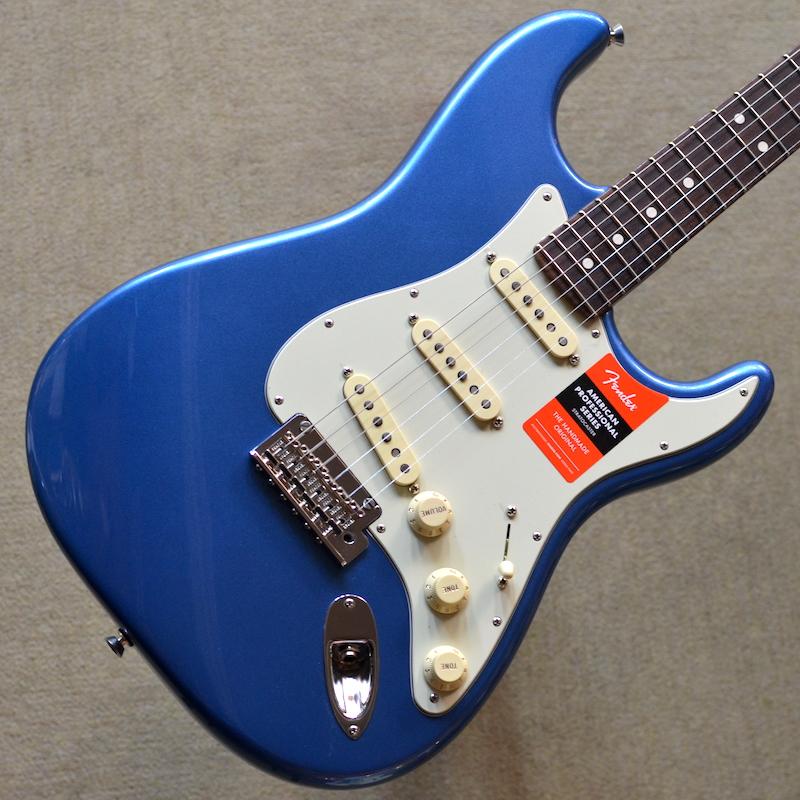アメプロ限定カラー オンラインショッピング 新品 Fender Limited Edition American Professional Stratocaster ~Lake Placid #US20014021 ミントグリーンピックガード 2020年製個体 22ナロートールフレット 9.5インチラジアス指板 3.65kg Blue~ 池袋店在庫品 配送員設置送料無料 限定カラー