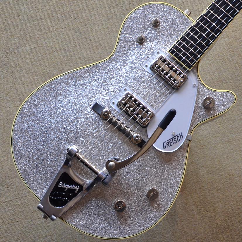 【新品アウトレット特価】Gretsch G6129T-59 Vintage Select '59 Silver Jet #JT17020665 【3.86kg】【1本限りのチョイ傷超特価】【エボニー指板】【TV Jonesピックアップ】【送料無料】【池袋店在庫品】