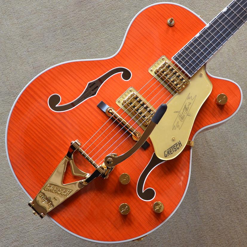 【新品】Gretsch G6120TFM Players Edition Nashville #JT18052247 【3.32kg】【エボニー指板】【ロックペグ】【送料無料】【池袋店在庫品】