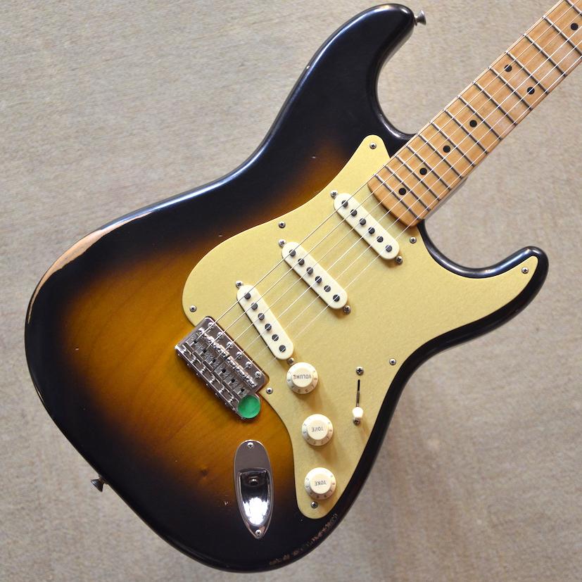 【新品】Fender Road Worn '50s Stratocaster ~2-Color Sunburst~ #MX17960277 【軽量3.38kg】【ピックガードモディファイ】【送料無料】【池袋店在庫品】