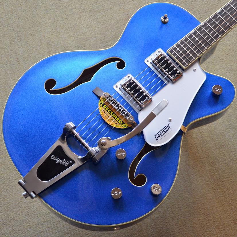 【新品特価】Gretsch G5420T Electromatic Hollow Body Single-Cut with Bigsby ~Fairlane Blue~ #KS17093271 【3.35kg】【送料無料】【池袋店在庫品】