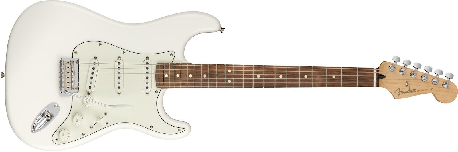【新品】Fender Player Stratocaster Pau Ferro Fingerboard ~Polar White~【お取り寄せ】【送料無料】【池袋店】