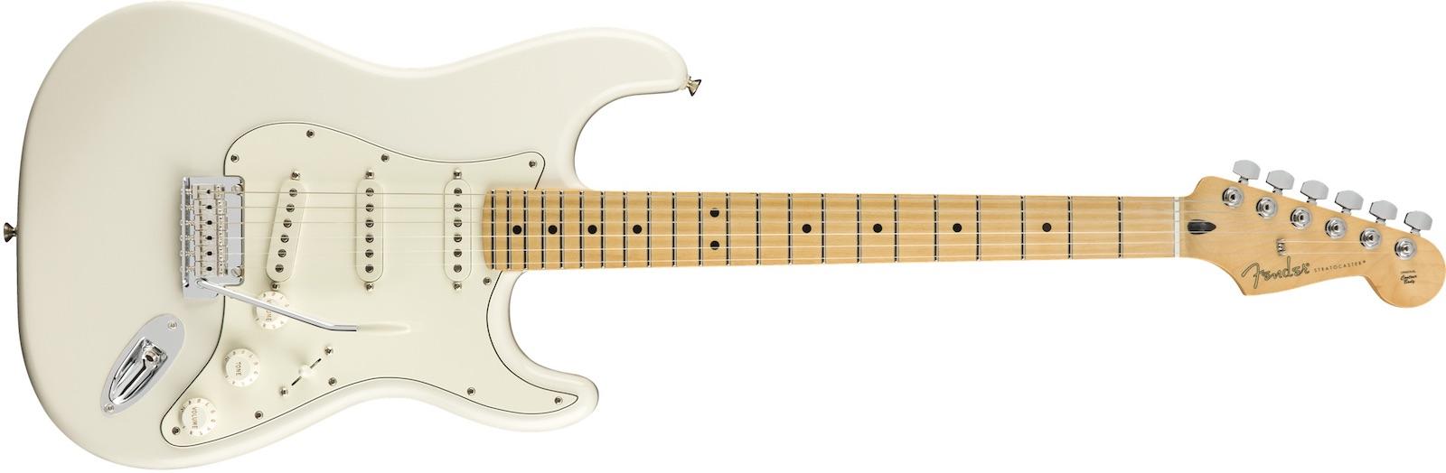 【新品】Fender Player Stratocaster Maple Fingerboard ~Polar White~【お取り寄せ】【送料無料】【池袋店】