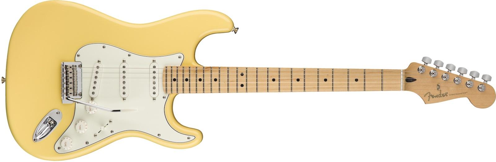 【新品】Fender Player Stratocaster Maple Fingerboard ~Buttercream~【お取り寄せ】【送料無料】【池袋店】