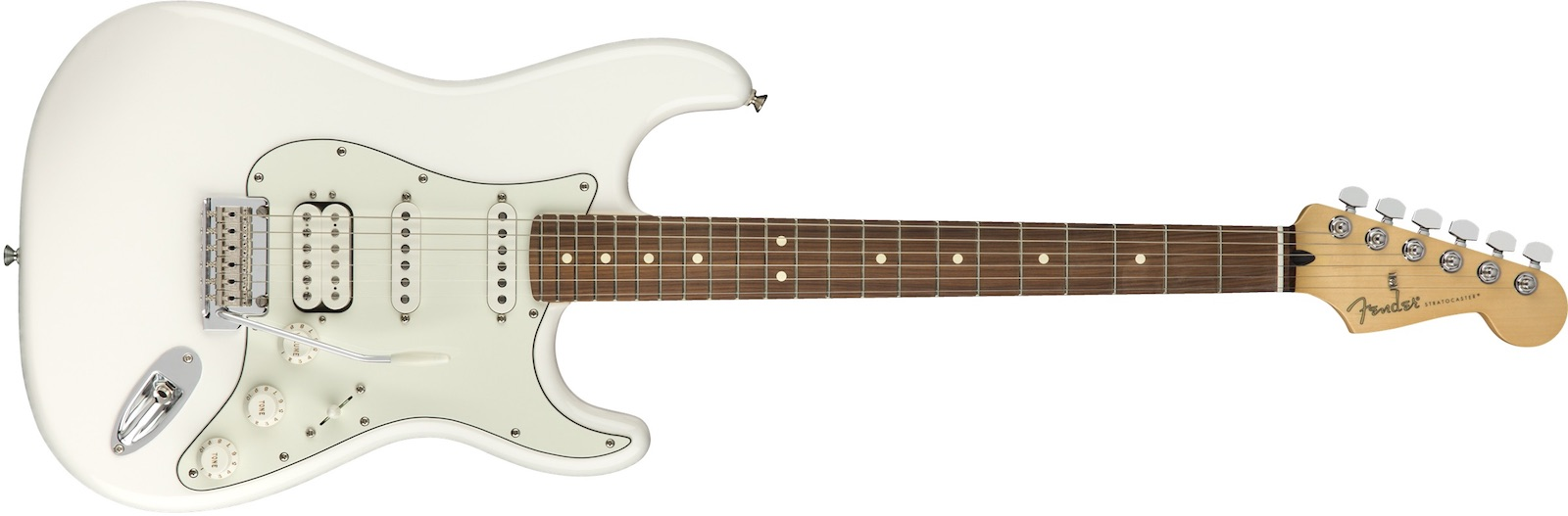 【新品】Fender Player Stratocaster HSS Pau Ferro Fingerboard ~Polar White~【お取り寄せ】【送料無料】【池袋店】