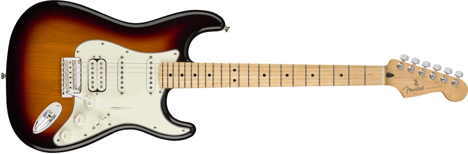 【新品】Fender Player Stratocaster HSS Maple Fingerboard ~3-Color Sunburst~【お取り寄せ】【送料無料】【池袋店】