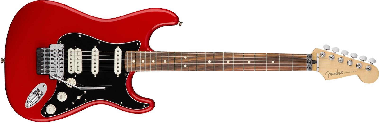 【新品】Fender Player Stratocaster Floyd Rose HSS Pau Ferro Fingerboard ~Sonic Red~【お取り寄せ】【送料無料】【池袋店】