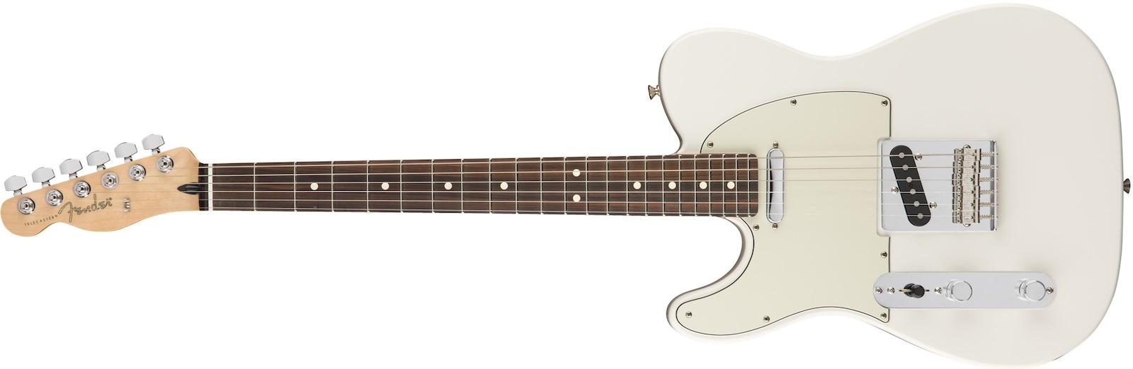 【新品】Fender Player Telecaster Left-Handed Pau Ferro Fingerboard ~Polar White~【お取り寄せ】【送料無料】【池袋店】